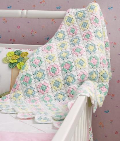 Cobertor Infantil de croche 1