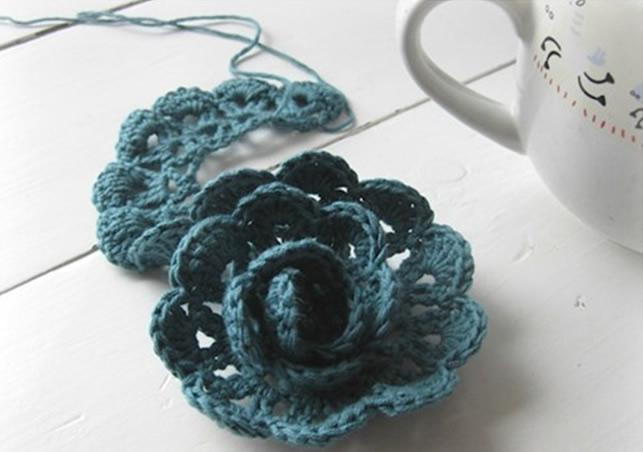 Flores de Croche Aprenda a Fazer voce mesmo 6